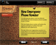 A screenshot of the IQ LINK Notices module